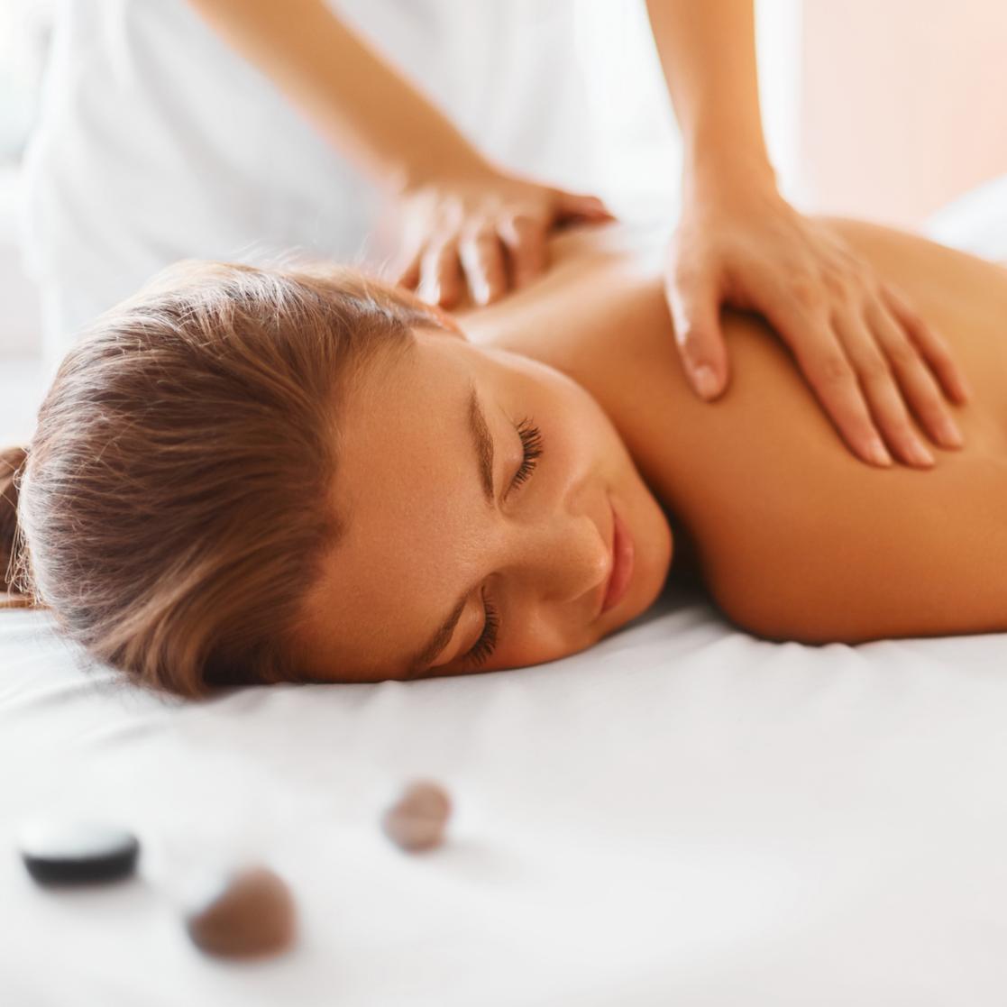 Massaggio svedese rilassante
