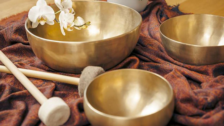Massaggio sonoro con campane tibetane